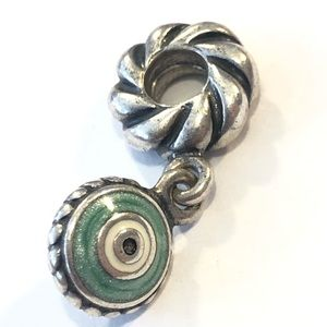 Jewelry - Watchful Eye Pandora Sterling Dangle Charm